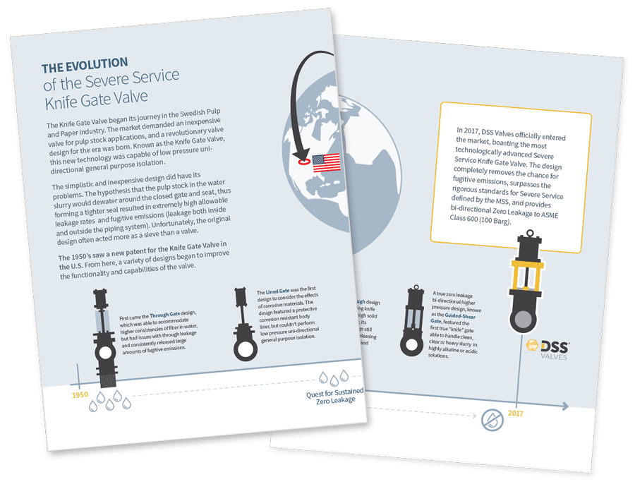 Download Knife Gate Valve Infographic