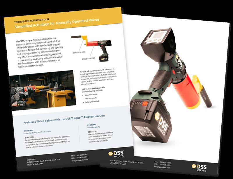 DSS Valves - Torque-Tek Actuation Gun